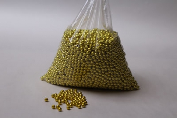 6 mm Gold Dragees (1000)