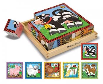Melissa & Doug Cube Puzzle Farm
