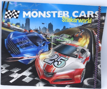 Top Model Create Your Monster Car Book