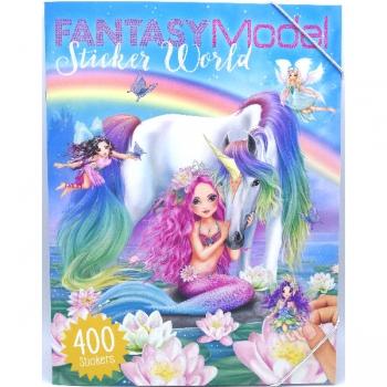Top Model Fantasy Model Sticker World Book