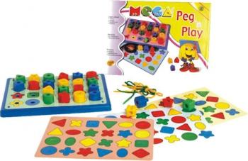 Smile Education Mega Peg 'n Play