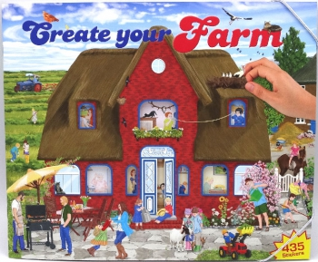 Top Model Create Your Farm Book