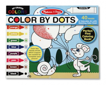 Melissa & Doug Colour by Dot
