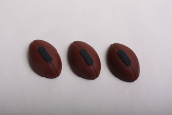 Brown Rugby Icing