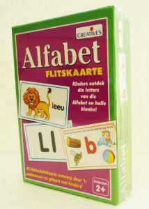 Creatives Alfabet Flitskaarte
