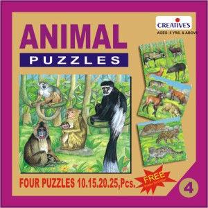 Creatives Animal Puzzle No 4