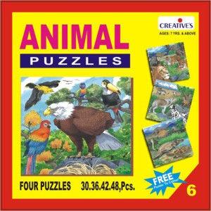 Creatives Animal Puzzle No 6