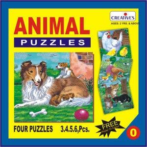 Creatives Animal Puzzle No.0