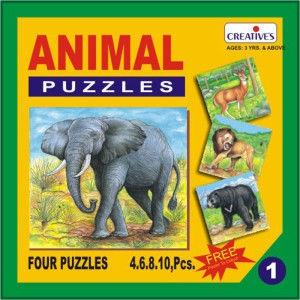 Creatives Animal Puzzle No.1