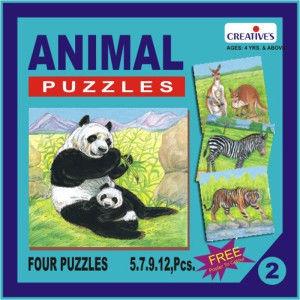 Creatives Animal Puzzle No.2