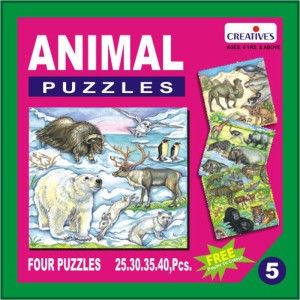 Creatives Animal Puzzle No.5