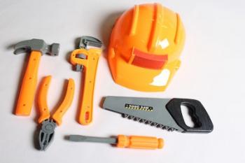 Builder Helmet And Accessories