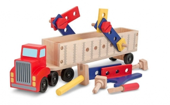 Melissa & Doug Big Ring Building Set