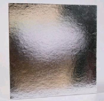 178 mm Silver Square Thin Cake Board