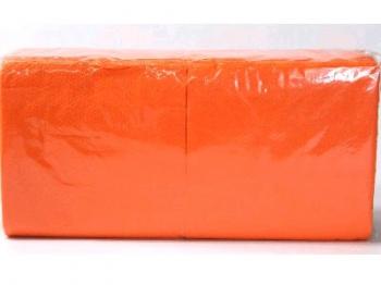 Orange Plain Serviette (1 Ply 200 pce)