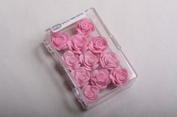 Pink Medium Rose Icing