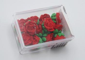 Alura Red Medium Rose Icing