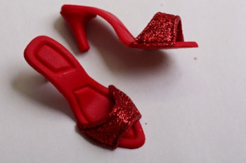 Red Sandals Icing