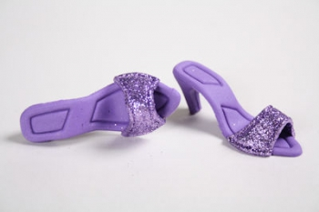 Lavender Sandals Icing