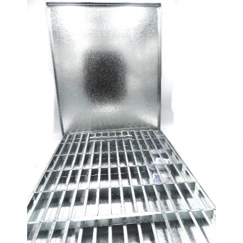 50x40 cm Thermo Fan Rusk Tin