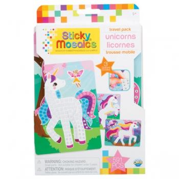 Sticky Mosaics Travel Pack Unicorns