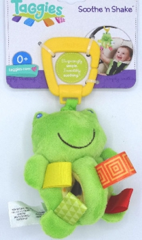 Bright Start Taggies Plush Soothe 'n Shaker