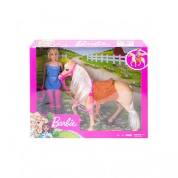 Barbie Basic Horse & Doll