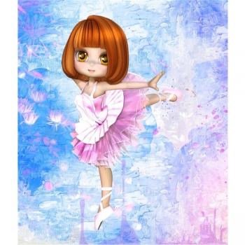Diamond Dot Painting 21X25 Ballerina