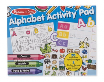 Melissa & Doug Activity Pad Alphabet
