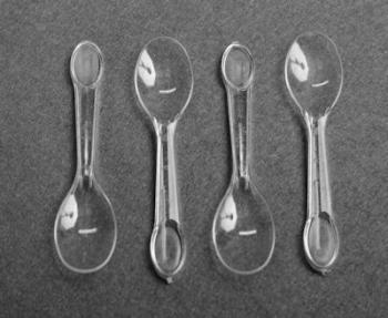 Plastic Ice Cream Spoon (1000)