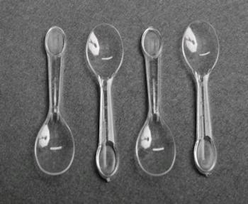 Plastic Ice Cream Spoon (25)