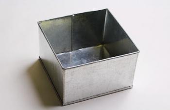 15 cm Square Cake Tin