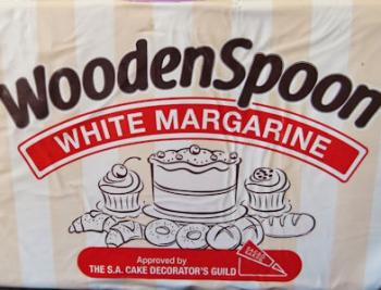 Wooden Spoon Margarine White Super Bake (25 kg)