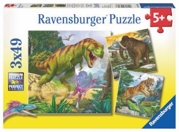 Ravensburger Puzzles  3x49Pce Primeval Ruler