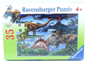 Ravensburger Puzzles 35Pce Dinosaur Playground