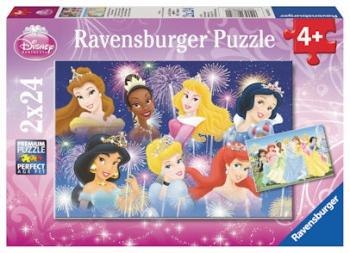 Ravensburger Puzzles 2x24Pce Beautiful Princesses