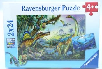 Ravensburger Puzzles Prehistoric Giants 2x24Pcs