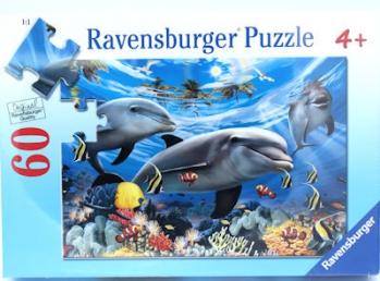 Ravensburger Puzzles  60PceCaribbean Smile
