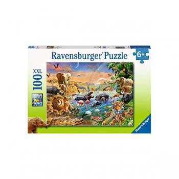 Ravensburger Puzzles 100Pce Savannah Jungle Waterh