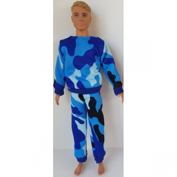 Doll Clothing Male Tracksuit