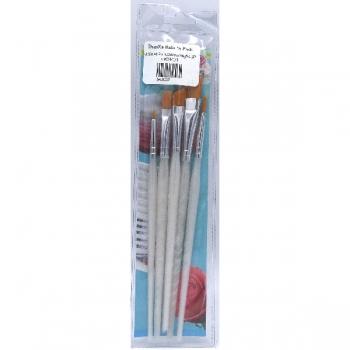 Decorating Paint Brush Set (6Pce)