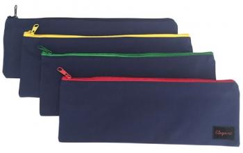 School Pencil Bags 33cm Single Top Zip