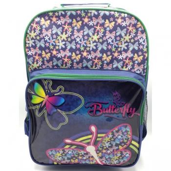 School Mate Bags Trolley Preschool Butterfly