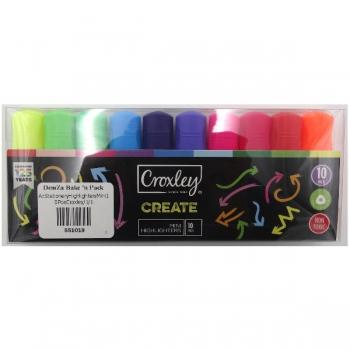 Croxley CREATE 10 Mini Highlighters