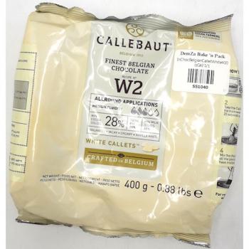Callebaut White Chocolate Callets 400g