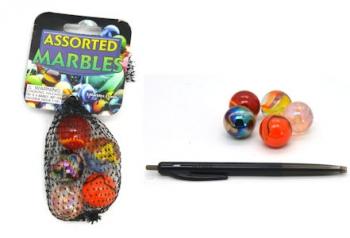Marbles 5x25mm Astd
