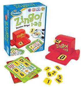 Zingo!123 Board Game