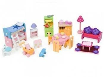 Le Toy Van Deluxe Starter Furniture Set