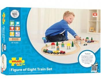 Bigjigs Rail Figure 8 Train Set