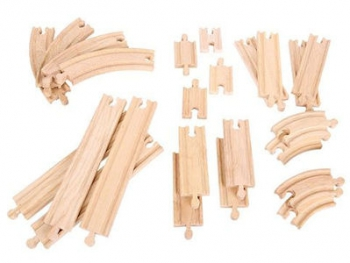 Bigjigs Rail Curves & Straights Expansion Pack